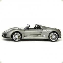 Машинка р/к 1:24 Meizhi лиценз. Porsche 918 металева (сірий)