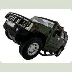 Машинка р/у 1:10 Meizhi ліценз. Hummer H2 (зелений)