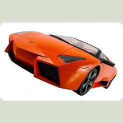 Машинка р/у 1:10 Meizhi ліценз. Lamborghini Reventon (оранжевий)