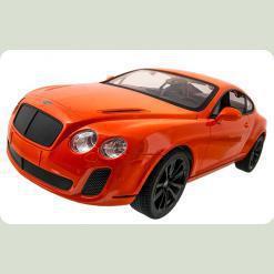 Машинка р/у 1:14 Meizhi ліценз. Bentley Coupe (оранжевий)