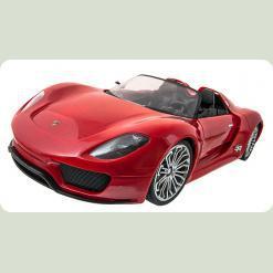 Машинка р/у 1:14 Meizhi ліценз. Porsche 918 (червоний)
