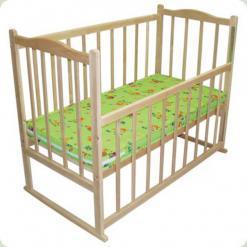 Матрац в ліжечко кокосова койра, бязь набивна, 60х120