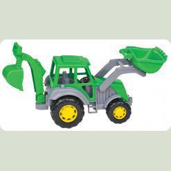 Майстер, трактор-екскаватор