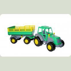 Майстер, трактор з причепом №2