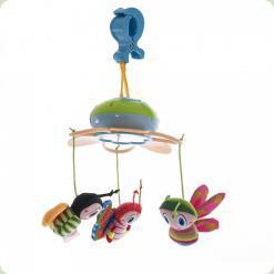 Міні-мобіль на прищіпці Biba Toys Щасливі жучки (353BM)