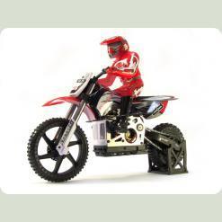 Мотоцикл 1:4 Himoto Burstout MX400 Brushed (червоний)
