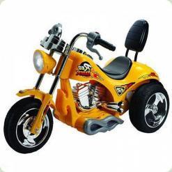 Мотоцикл Дитячий Harley-Davidson 5008, жовтий