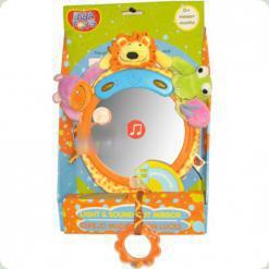 Музична іграшка Biba Toys Друзі джунглів зі світловими ефектами (041JF)