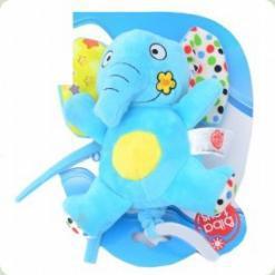 Музична іграшка-підвіска Biba Toys Друзі Джунглів Слон (068JF elephant)