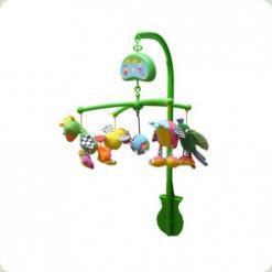 Музичний мобіль Biba Toys Счатлівие пташки (081GD)