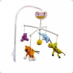Музичний мобіль Biba Toys Щасливі джунглі (040BM)