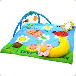 Музичний розвиваючий килимок Biba Toys Райський сад з дугами (670BP)
