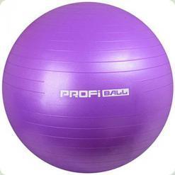 М'яч для фітнесу Profi Ball 75 см (MS +1577) Фіолетовий