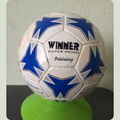 М'яч футбольний WINNER Super Primo № 3 біло-синій