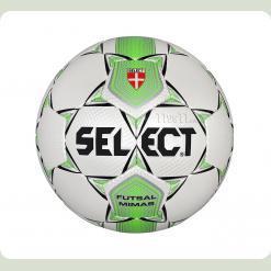 М'яч футзал SELECT Mimas біло-зелений