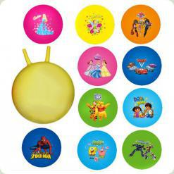 М'яч - стрибун Bambi M 0067 U / R з ріжками 45 см Дісней Кольори в асортименті