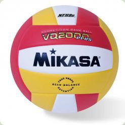 М'яч волейбол MIKASA VQ 2000 біло-жовто-червоний