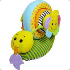 М'яка активна іграшка Biba Toys Равлик-конструктор (370BS)