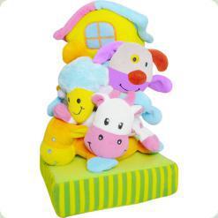 М'яка пірамідка Biba Toys Щаслива ферма (368BS)
