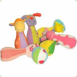 М'який боулінг Biba Toys Дружна ферма (544BS)