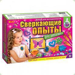 Набір для експериментів Ranok Creative Блискучі досліди для дівчаток (12114062Р)