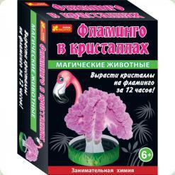 Набір для творчості Ranok Creative Магічні тварини Фламінго в кристалах (12100325Р)