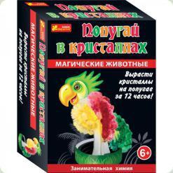 Набір для творчості Ranok Creative Магічні тварини Папуга в кристалах (12100332Р)