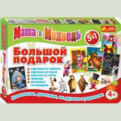 Набір для творчості Ranok Creative Великий подарунок Маша і Ведмідь (9001-05)