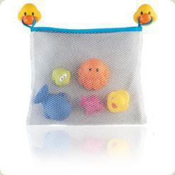 """Набір для ванної """"Іграшки-бризкалки"""" з сумкою (від 12 міс.)"""