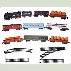 Набір ігровий «Залізниця з 9 вагонами»