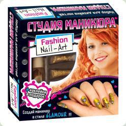 Набір Ranok Creative Для дизайну нігтів Студія гламуру (14100218Р, 5654)