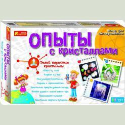 Набір Ranok Creative Досліди з кристалами (0320)