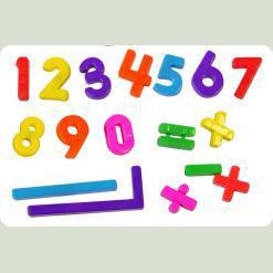 Набір магнітних цифр