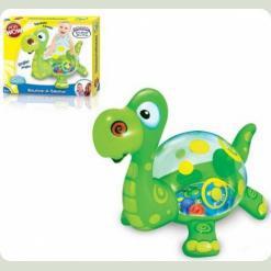 Надувна іграшка Play WOW Великий динозаврик Скок (3136PW)