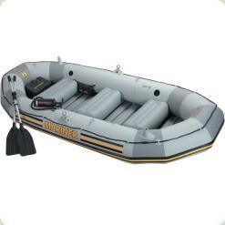 Надувний човен Intex Моряк чотиримісний (в комплекті насос) (68376)