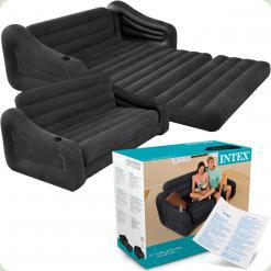 Надувний диван трансформер Intex 68566