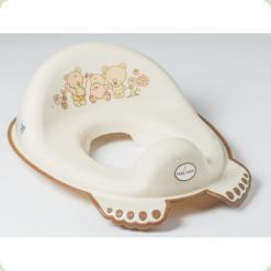 Накладка на унітаз антіскольз. Tega Mis MS-016 beige pearl