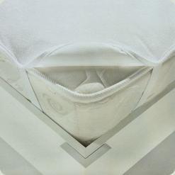 Наматрацник Ласка-М з гумкою по кутах (60х120) - білий