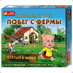 Настільна гра Ranok Creative Втеча з ферми (5832)