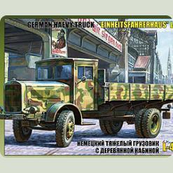 Нім. вантажівка з дерев'яною кабіною L-4500