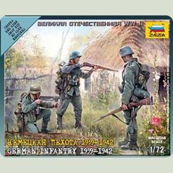 Німецька піхота 1939-1942гг