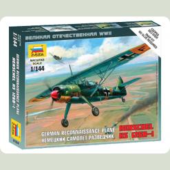 """Німецький літак-розвідник """"Henschel"""""""