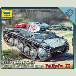 Німецький танк Т-II