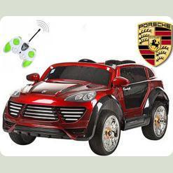 Одномісний електромобіль Porshe Cayenne Turbo, з пультом управління