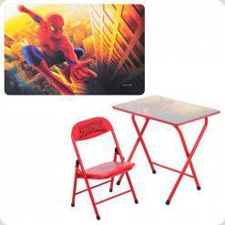 Парта Bambi DT 18-12 зі стільчиком Spiderman