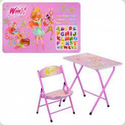 Парта Bambi DT 19-15 зі стільцем Winx