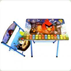 Парта Bambi DT 19-5 зі стільцем Angry Birds