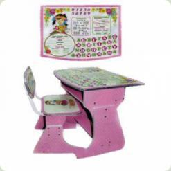 Парта Bambi HB 2029 A UK -02- 7 Pink