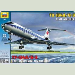 """Пас. авіалайнер """"Ту-134"""""""