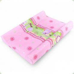 Пеленальний матрацик Berber Dino PR-603055 Африка Рожевий